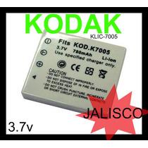 Bateria Camara Digital Kodak Klic-7005 3.7v Nuevo Guadalajar