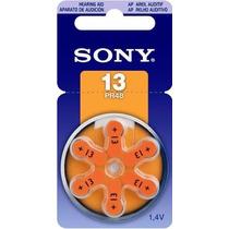 Bateria Pila P Aparato Auditivo Sony C/6 13 Pr48