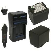 Batería De Alimentación Wasabi Y Kit Cargador Para Canon Bp-