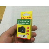 Bateria Lp-e8 Para Camara Canon T2i T3i T4i T5i 600d