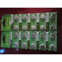 Paquete 20 Baterias Alcalinas Pilas Ag 10 / 389 A / Lr1130