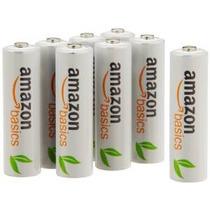 Baterías Amazonbasics Recargables Aa (paquete De 8) Pre-carg