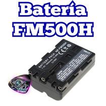 Bateria Fm500h Para Camara Sony Y Para Lampara Led