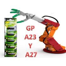 5 Pilas Gp A23 O A27 12v Alcalina Alarmas De Autos, Timbre,