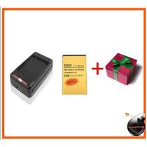 Bateria Dorada Samsung Galaxy Ace Y Cargador S5830 S5838