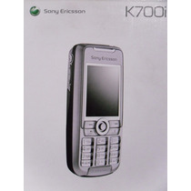 Caja Sony Ericsson K700i Cuidada, Cintillo, Manual,base Y Cd