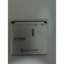 Ep500 Pila Batería Celular Sony Original Pila Xperia X8 Viva