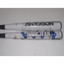 Bats Anderson Para Beisbol 34/31 Seminuevos* *precio X Bat*