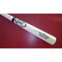 Bat Beisbol Madera Fresno Rawlings Pro Model B110