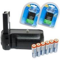 Battery Grip Nikon D3000 D5000 D40 D60 2 Baterias En-el9 Mn4