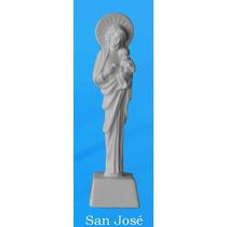 San Jose Recordatorio Bautizo En Marmol Blanco