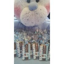 Bonitos Chocolates Personalizados Para Bautizo, Presentación
