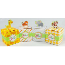 10 Caja Para Dulces Hermosas De Animalitos *gratis*