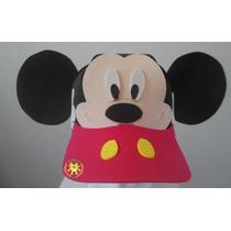 Paquete 5 Gorras Foami Fiesta Dulcero Minion Mickey Minnie