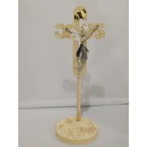 Recuerdo Primera Comuniòn, Cruz De Madera Jesucristo,bautizo