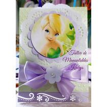 Invitaciones De Bautizo Campanita Princesas Cars Toy Story