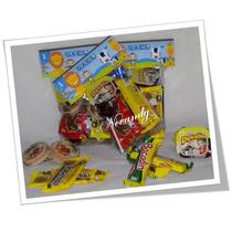 Paquete 6 Dulceros Personalizados Dulces Cumpleaños Fiestas