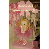 Centros De Mesa Baby Shower Cumpleaños Niña Tutu Bailarina