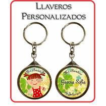 Llaveros Recuerdo Personalizados(12 Pzas) Original Obsequio!