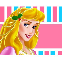 Kit Imprimible Princesa Aurora De La Bella Durmiente