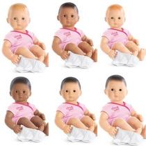 American Girl Bitty Baby Muñeca Original Mide 15 Con 3 Acce