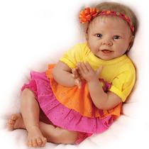 Nueva Bebe Reborn Interactiva Se Rie Sobrepedido 18 Pulgadas