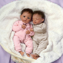 Gemelos Baby Reborn Ashton Drake Sobrepedido Originales