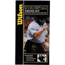 Kit Wilson Umpire. Accesorios Necesarios P/ Arbitro Beisbol