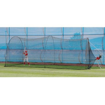 Jaula De Bateo Trend Sports Power Alley Home Batting Cage