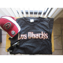 Diamonbacks Arizona Gorra Camiseta Reralta Y Lentes