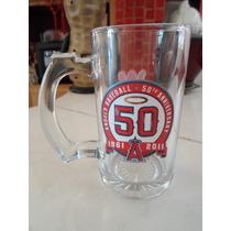 Tarro Mlb Baseball Anaheim Angels 50 Aniversario Sports