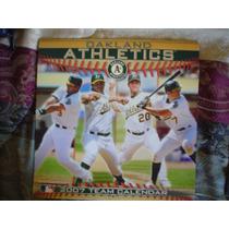 Calendario Atleticos De Okland 2007 28 Paginas Mide 31 X 31