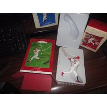 Souvenir Beisbol Navideño Figura Mcgwire Cardinales