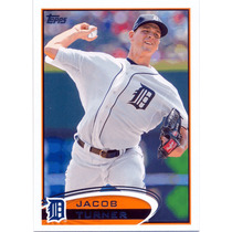2012 Topps #358 Jacob Turner Tigres