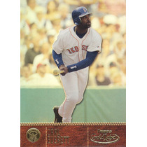 2001 Topps Gold Label Class 1 Carl Everett Of Red Sox