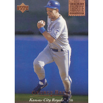 1995 Upper Deck Tribute George Brett Royals