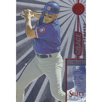 1997 Select Company Red Mark Grace Cubs