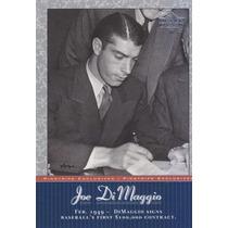 2001 Upper Deck Pinstripe Exclusives Joe Dimaggio Yank Jd15