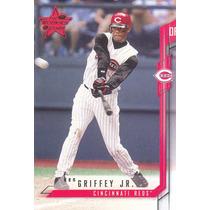 2001 Leaf Rookies & Stars Ken Griffey Jr. Reds