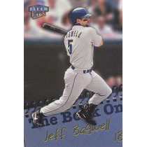1999 Fleer Ultra The Book On Jeff Bagwell Astros