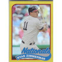 2014 Topps Gold Ryan Zimmerman Nationals /199