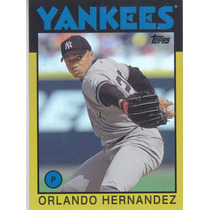 2014 Topps Gold Orlando Hernandez Yankees /199