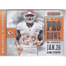 2014 Rookies & Stars Pro Bowl Brandon Flowers Cb Chiefs