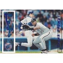1996 Stadium Club Team Tsc Frank Thomas 1b White Sox