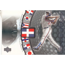 2002 Upper Deck World Stage Vladimir Guerrero Dominicana