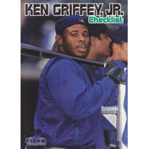 1999 Fleer Tradition Checklist Ken Griffey Jr Mariners