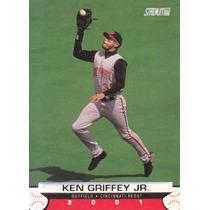 2001 Stadium Club Ken Griffey Jr. Of Reds