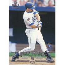 1998 Pacific Silver Jeff King 1b Royals