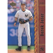 2001 Upper Deck Gold Glove Derek Jeter Ss Yankees