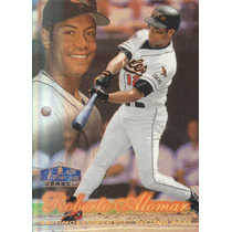 1998 Flair Showcase Row 2 Roberto Alomar Orioles